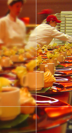 corporate catering event